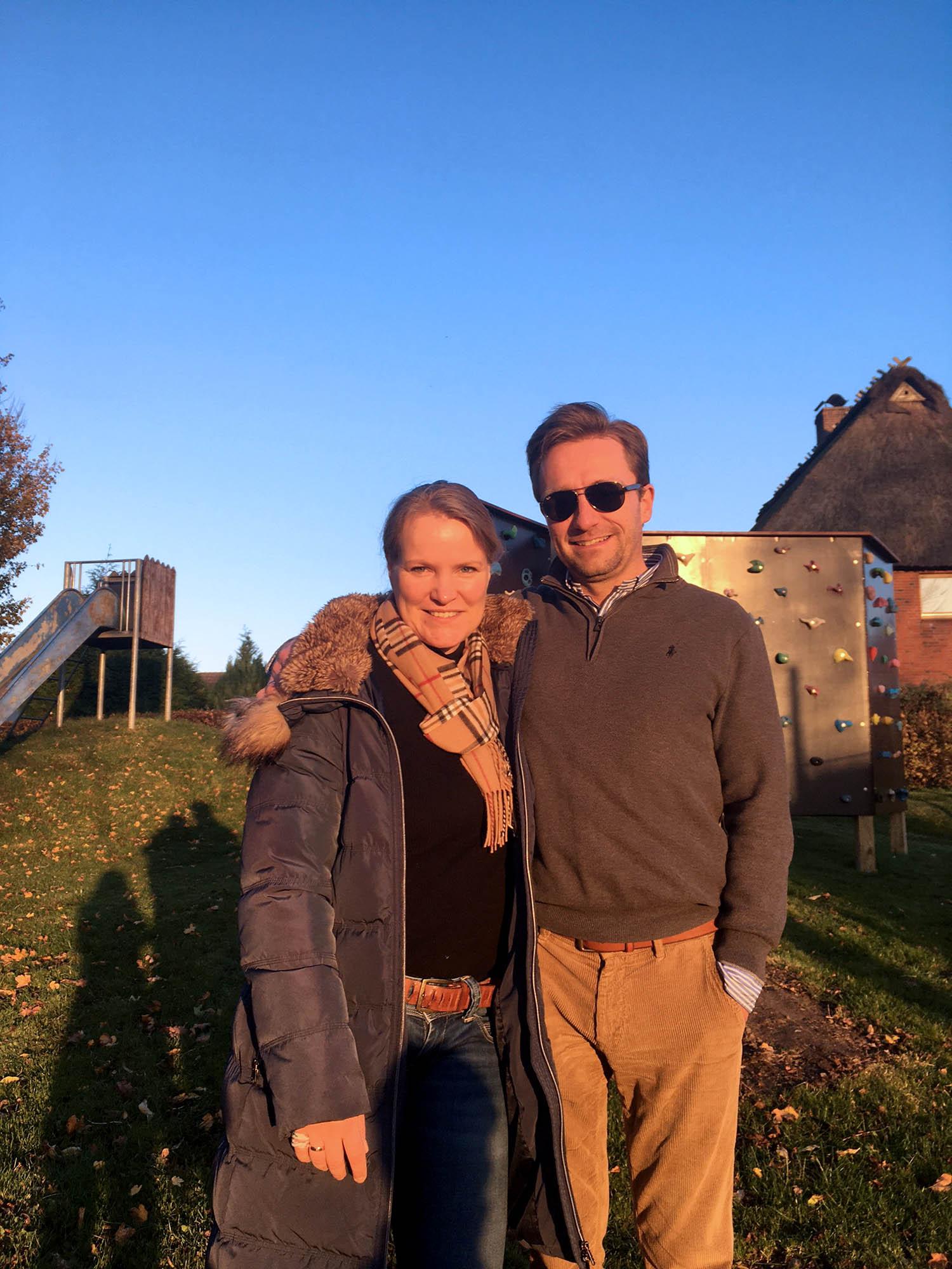 Jörg Struve mit Frau